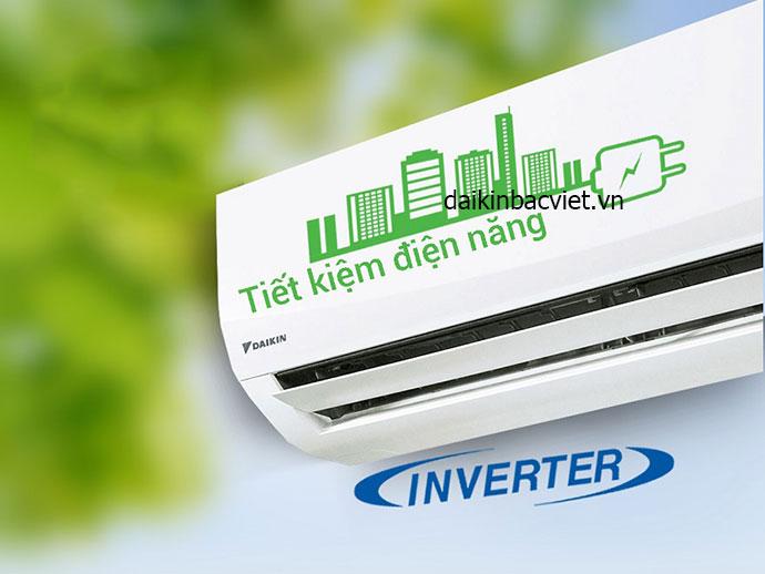 Điều hòa Daikin 1 chiều inverter FTKC50QVMV hiệu quả hơn với công nghệ tiết kiệm điện
