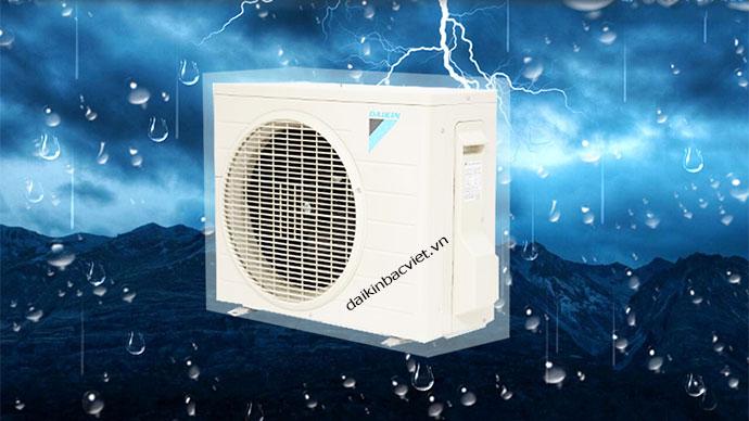 Điều hòa daikin 1 chiều 12000btu ftne35mv1v bền bỉ hơn nhờ dàn tản nhiệt chống ăn mòn