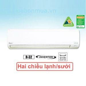 Dieu Hoa Daikin 2 Chieu Inverter FTHF25RVMV