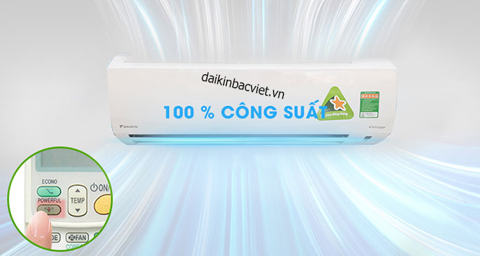 Cong Suat Dieu Hoa Daikin Xm25 Phu Hop