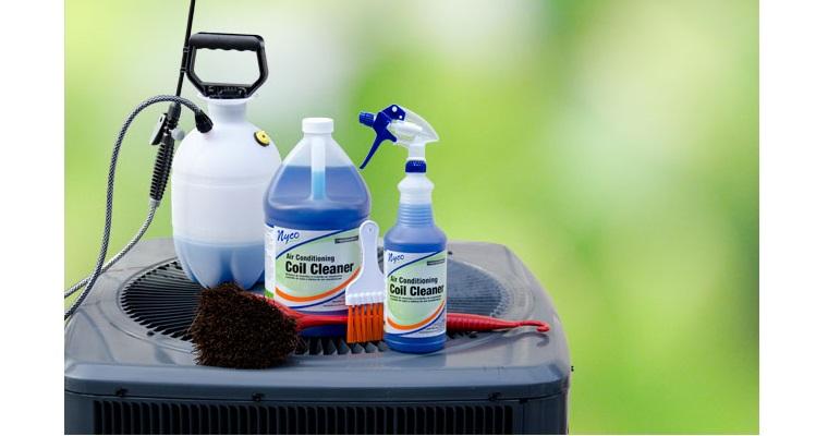 Một vài dụng cụng dùng để bảo dưỡng điều hòa