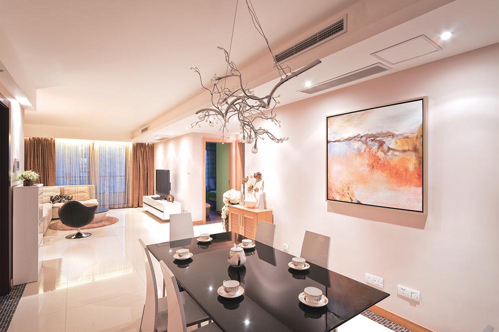 Phòng khách căn hộ sang trọng hơn với dàn lạnh âm trần nối ống gió