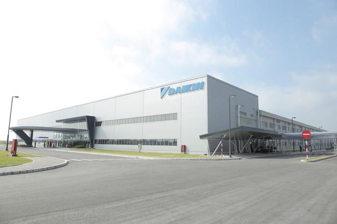 Nhà máy sản xuất điều hòa Daikin tại Hưng Yên - Việt Nam